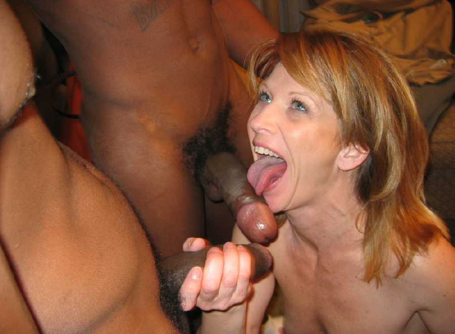 Phyllisha takes three cocks